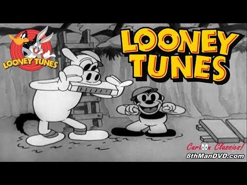 LOONEY TUNES (Looney Toons): Bosko the Doughboy (Bosko) (1931) (Remastered) (HD 1080p)