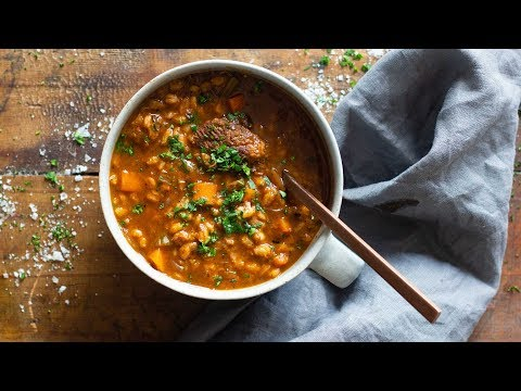 Delicious Beef And Barley Soup