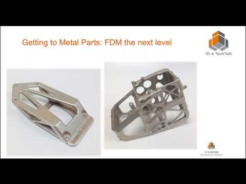 10-4 TechTalk: How to Get Metal Parts Without a Costly Metal 3D Printer