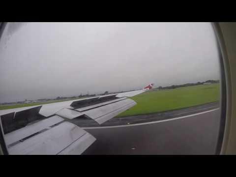 Virgin atlantic 747-400 Orlando int - Belfast int