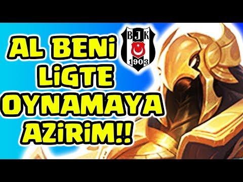 LİGTE OYNAMAYA AZİRİM!!