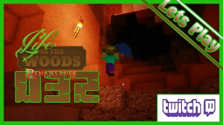 Minecraft - Life in the Woods 032 - Gynä-Geologe sucht Eisen  -  Let`s Play [Twitch]