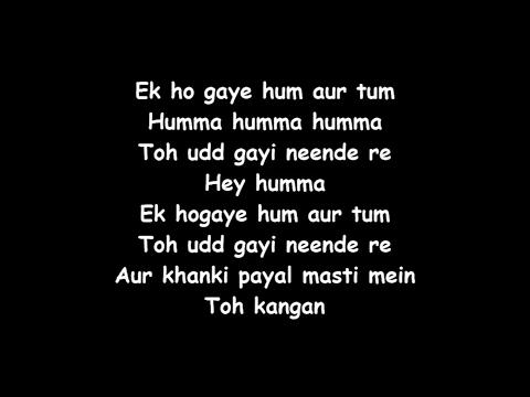 The Humma - Lyrics - OK Jannu - Jubin Nautiyal - Badshah - Tanishk Bagchi