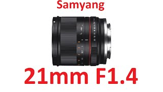 Samyang 21mm F1.4 ED AS UMC CS