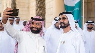أحمد شريف يقدم عرض فكاهي ل سمو الشيخ محمد بن راشد ال مكتوم (جديد 2018)