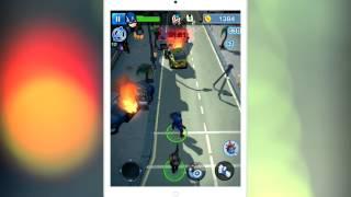 Первый Мститель: Другая война геймплей (gameplay) HD качество