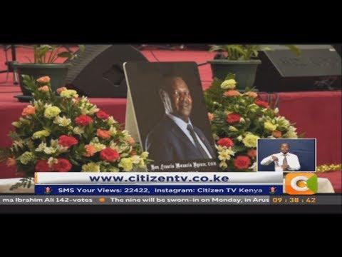 Late Kitui West MP Nyenze requiem mass held at CITAM Karen