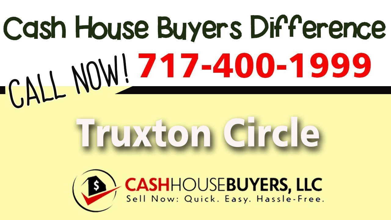 Cash House Buyers Difference in Truxton Circle Washington DC | Call 7174001999 | We Buy Houses
