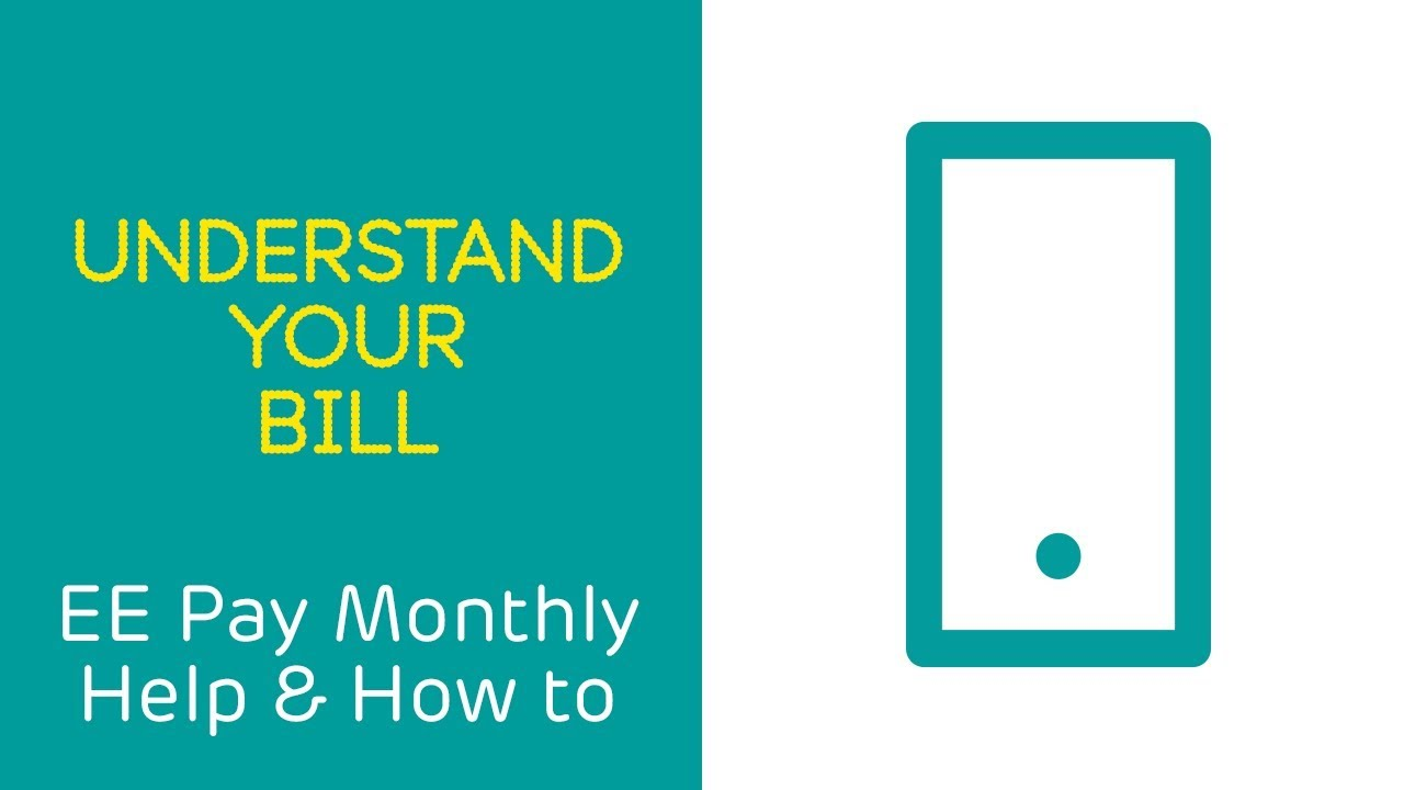 Your online EE phone bill explained | Help | EE