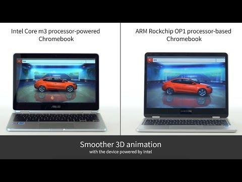 Asphalt 8: Airborne: Intel processor-powered Chromebook vs. ARM processor-based Chromebook