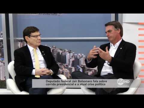 Entrevista com o Deputado Federal Jair Bolsonaro no SBT Meio-Dia - Bloco 1