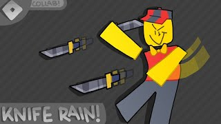 🔪KNIFE RAIN! | ROBLOX | MURDER MYSTERY 2 | w/ NOOB SQUAD