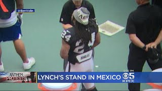 President Calls Out Raiders Running Back Lynch On Anthem Protest