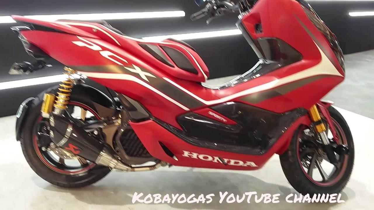 Modifikasi All New Honda Pcx 150 2018 Indonesia Custom Sporty Style