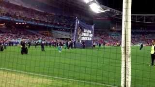 carlton v swans semi finals anz stadium 2013