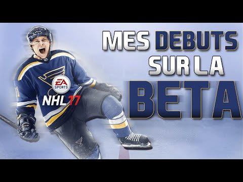NHL 17 BETA | Je construit mon aréna et mon joueur! | (QC,FR)