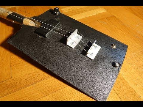 Shovel Guitar DIY - How to make shovel guitar ...