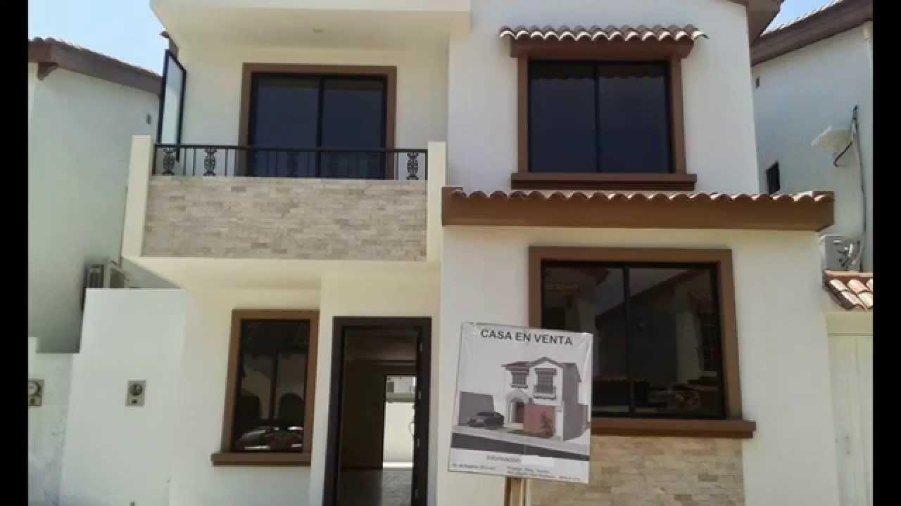 Casa de dos pisos por estrenar en venta en terranostra for Modelos de fachadas para casas de 2 pisos