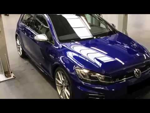 my new golf 7 5 r with optional akrapovic exhaust sounds. Black Bedroom Furniture Sets. Home Design Ideas