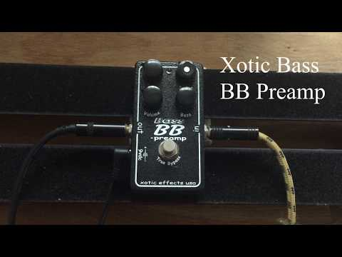 Xotic Bass BB Pre Overdrive and Distortion Effects Pedal - jamming around, no speech