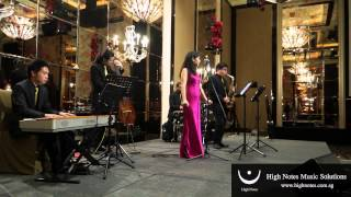 imelda teo performs 如果没有你 ru guo mei you ni 白光 with the shanghai swingers