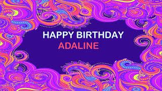 Adaline   Birthday Postcards & Postales