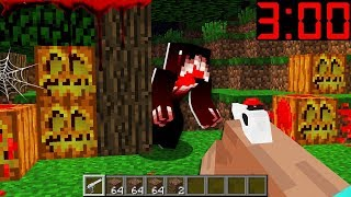 HOW TO SURVIVE HALLOWEEN NIGHT? 3:00AM In MINECRAFT : NOOB vs PRO