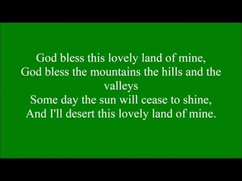 God Bless this Lovely Land with lyrics