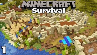 Pillagers Destroyed My Village  Minecraft 1.14 Survival Letand39s Play 1 Building With Fwhip