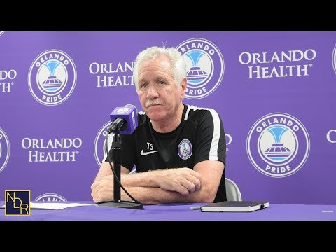 MATCH 9 (Pride vs. North Carolina) | Post-Match Presser With Tom Sermanni