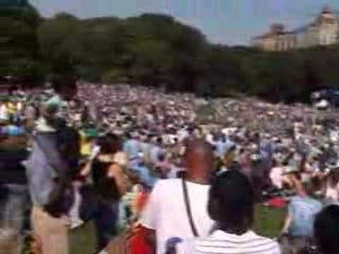 Darfur Rally 9/18/2006 in Central Park New York