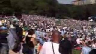 Darfur Rally 9/18/2006 in Central Park New York