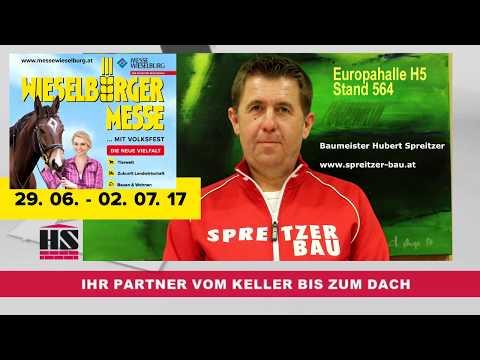Spreitzer Bau Auf Der Wieselburger Messe 2017 Youtube