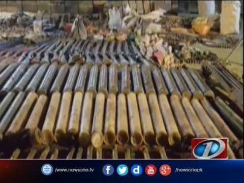 Security forces recover huge cache of weapons from Kurram: ISPR