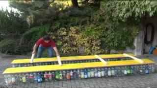 PET-Flaschen-Boot