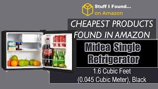 https://amzn.to/2K9h4Cs Midea WHS-65LB1 Compact Single Reversible Door Refrigerator