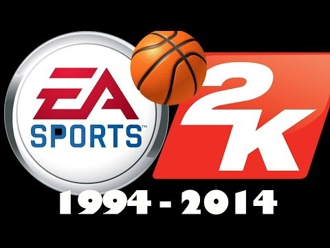 History of NBA Video Games - NBA 2k and NBA Live 1994-2014