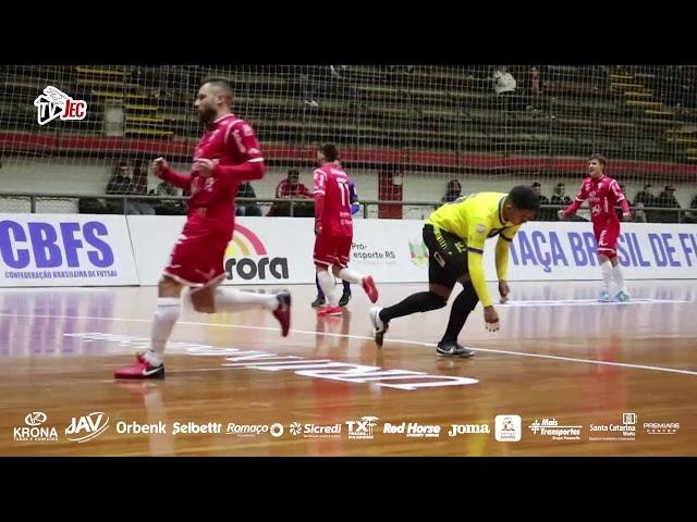 TV JEC - Horizonte 0x5 JECKrona - 2ª rodada Taca Brasil 2018