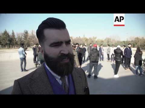 Kurdish men in Western suits are Instagram hit
