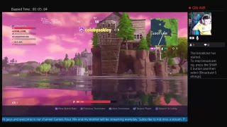 Fortnite Live Stream! Battle Royale Game Play - Road To Pro #1