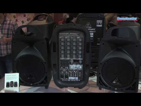 Behringer Europort PPA Series Overview - Sweetwater at Winter NAMM 2014