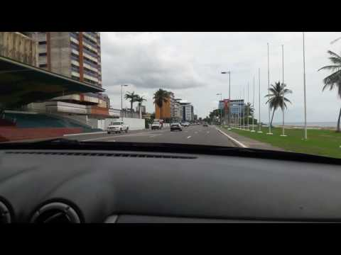 First ever drive in Libreville Gabon