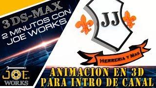 3D MAX - 3D arkadaşı JJ Demirci Benim için Logo Animasyon Oluşturma ve daha fazlası | JOE Çalışır
