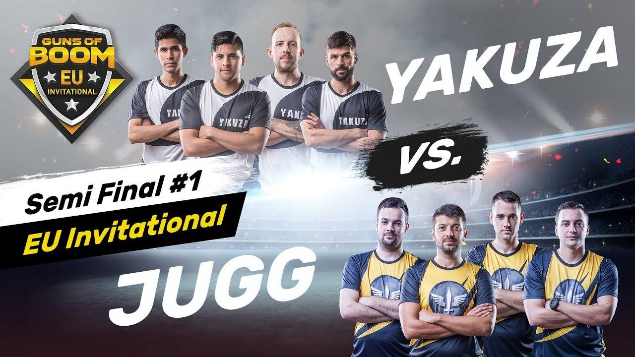 JUGG KNIGHTS OF HONOR vs YAKUZA - Winners Match - EU Invitational