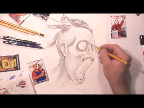 Вопрос: Как нарисовать зомби?