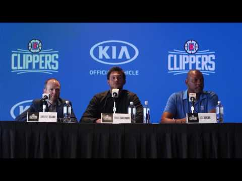 Press Conference | Clippers Welcome Danilo Gallinari