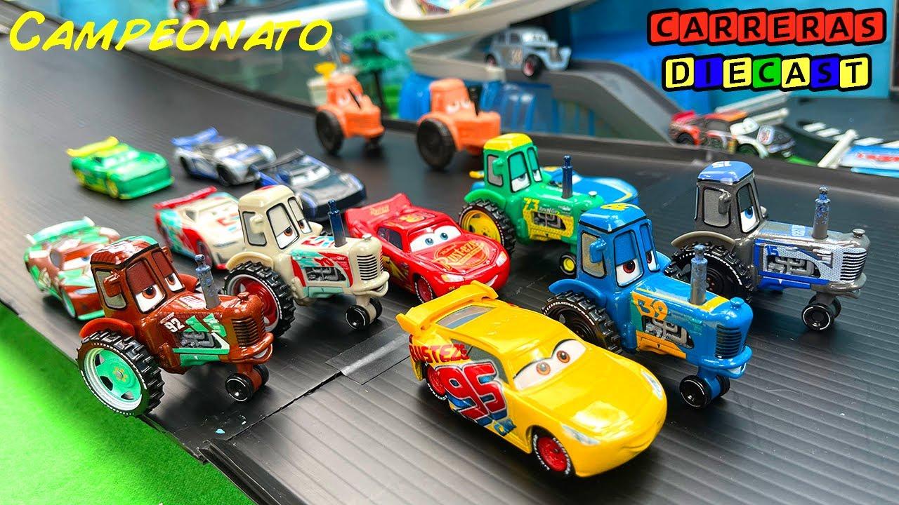 DISNEY CARS RACING TRACTOR CAMPEONATO