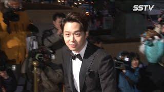 [SSTV] 박유천-김우빈-최시원, 한파 녹이는 훈남 외모! '여심 녹네'(청룡영화제)