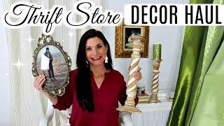 🌟HUGE THRIFT STORE DECOR HAUL!! 🌟TIPS & TRICKS FOR AN AMAZING RESALE SHOPPING ADVENTURE / UPCYCLE