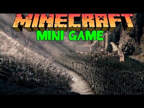 Осада Замка в Minecraft: Мини Игры